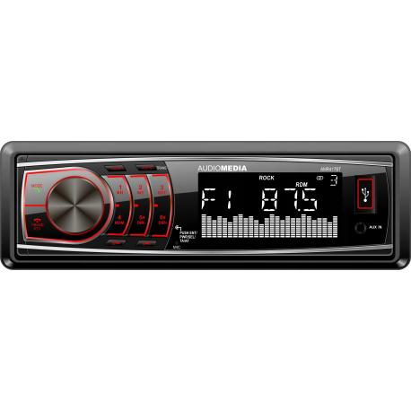 Audiomedia AMR417BT Radio samochodowe Bluetooth MP3 USB