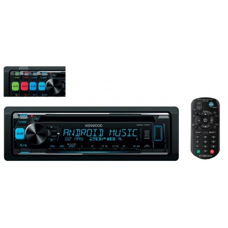 RADIO KENWOOD KDC-170Y PILOT VARICOLOR USB MP3 CD