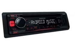 KENWOOD KDC-100UR RADIO CD MP3 USB AUX CZERWONY