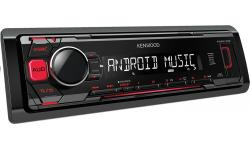 RADIO KENWOOD KMM-103RY USB MP3 FLAC CZERWONE