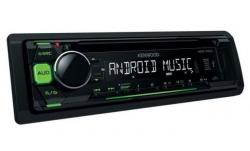 KENWOOD KDC-100UG RADIO CD MP3 USB AUX ZIELONY