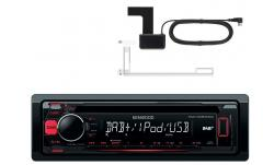 KENWOOD KDC-DAB400U RADIO DAB CD MP3 USB + ANTENA