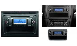 RCD 210 MP3 RADIO VW GOLF PASSAT CADDY POLO TOURAN