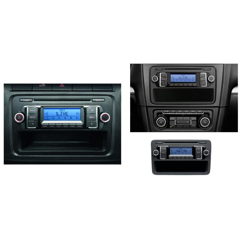 rcd 210 mp3 radio vw golf passat caddy polo touran. Black Bedroom Furniture Sets. Home Design Ideas