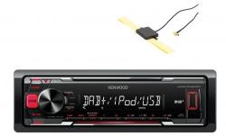 KENWOOD KMM-DAB403U RADIO DAB MP3 USB + ANTENA