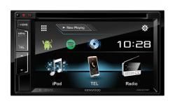 RADIO 2DIN KENWOOD DDX317BT POLSKIE MENU CD DVD BT