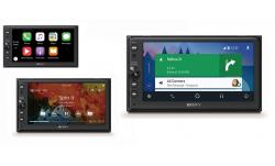 SONY XAV-AX100C2 Radio samochodowe 2DIN CarPlay Android Auto MP3 LCD