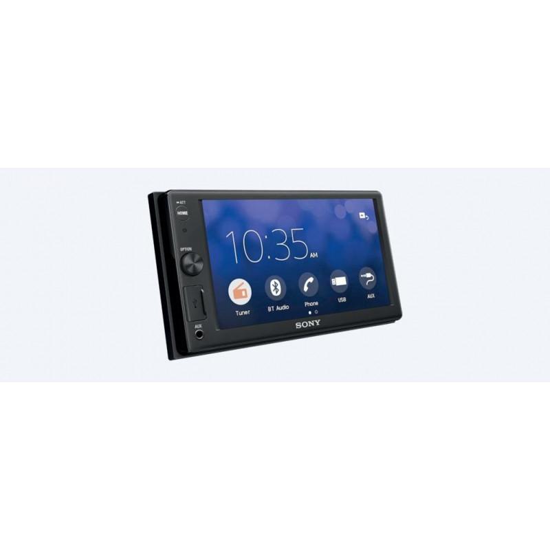 PIONEER MVH-A100V RADIO SAMOCHODOWE 2DIN EKRAN DOTYKOWY LCD MP3 USB DIVX