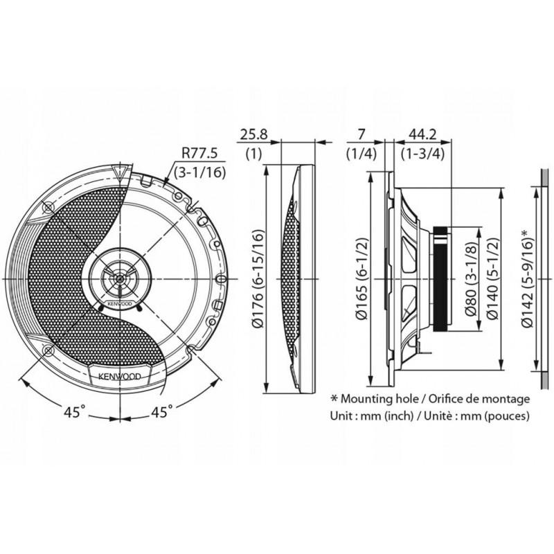 PIONEER SPH-10BT Radio samochodowe z Bluetooth MP3 USB Android z uchwytem na telefon