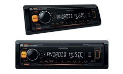 RADIO KENWOOD KMM-102AY USB MP3 FLAC POMARAÑCZOWE