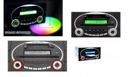 GRUNDIG CL2200 CD 1,8DIN RADIO FORD KIA MULTICOLOR